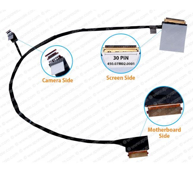 Display Cable For HP Pavilion X360 M3-U 13-U 450.07M02.0001