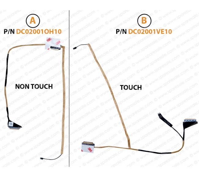 Display Cable For Acer E1-510, E1-530, E1-532, E1-532G, E1-570, E1-570G, E1-572, E1-572G, V5-561, V5-561G, V5-561P, V5WE2 DC02001OH10 DC02001VE10