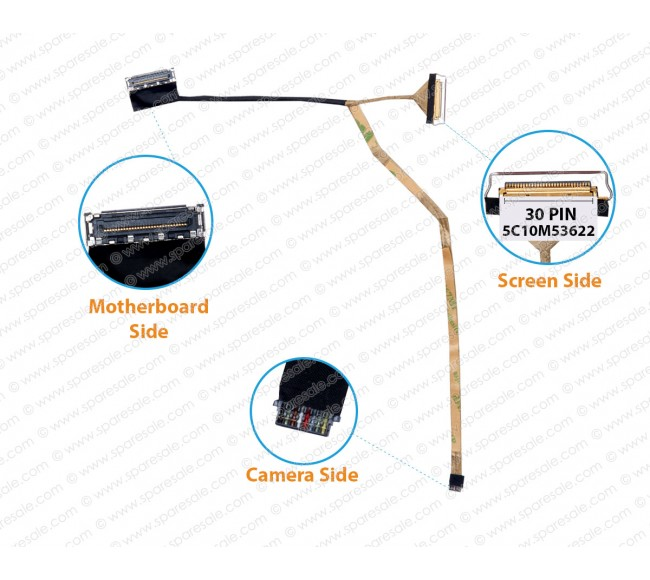 Display Cable For LENOVO IDEAPAD 110S-11IBR 5C10M53622 64411202900030