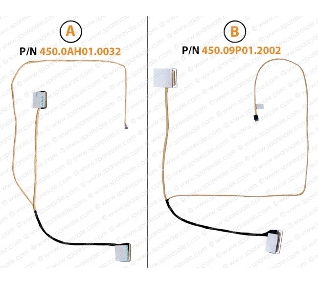 Display Cable For Dell OEM Inspiron 15 3565 3567 Vostro 15 3568 054YNP 450.09p01.2002 450.0AH01.0032 0YF0MG