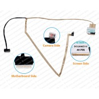 Display Cable For Lenovo IdeaPad G560, G565, Z560, Z565, NIWE2, DC02000ZI10, 31042430 LCD LED LVDS Flex Video Screen Cable