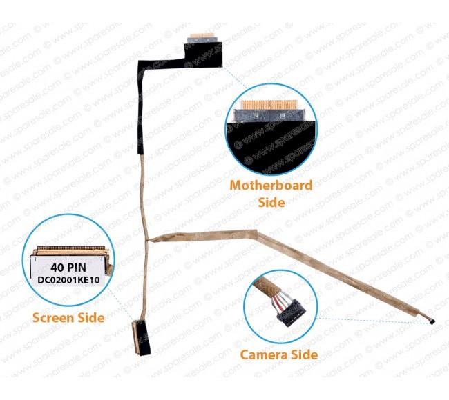 Display Cable For Acer V5-171 V5-131 Aspire One 756 C710 DC02001KE10 40 Pin