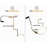 Display Cable For Acer Aspire V5-431, V5-471, V5-471G, V5-531G, V5-571G, V5-531, V5-531P, V5-531PG, V5-571, V5-571P, V5-571PG, Gateway DX4640, Gateway DX4710, Gateway M-6308, Gateway M-6309, Gateway M6823A, VM51, VA51