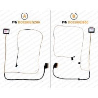 Display Cable For Dell Inspiron 15 5000 5565 5567 0D8C2T BAL20 dc02002gz00 DC02002I800