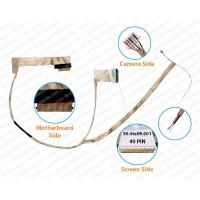 Display Cable For Lenovo B580 B590 V580 50.4te09.001