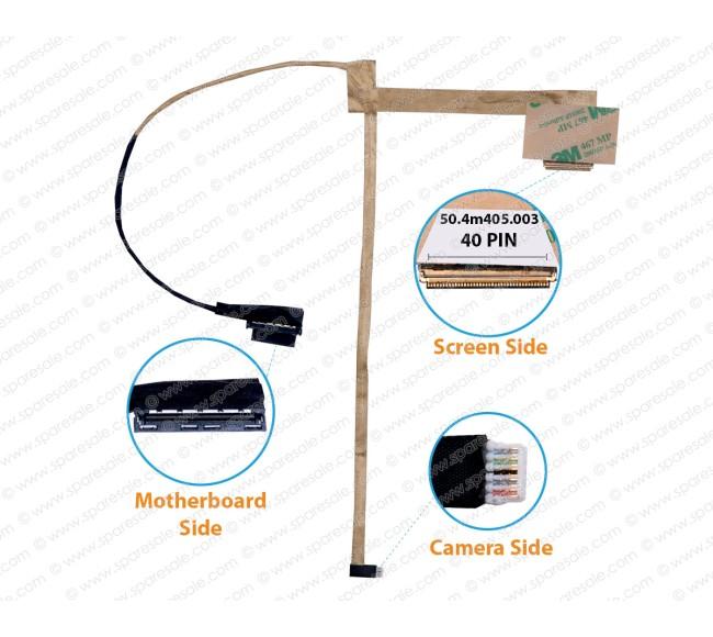 Display Cable For Lenovo z570 z575 LZ57 50.4m405.003