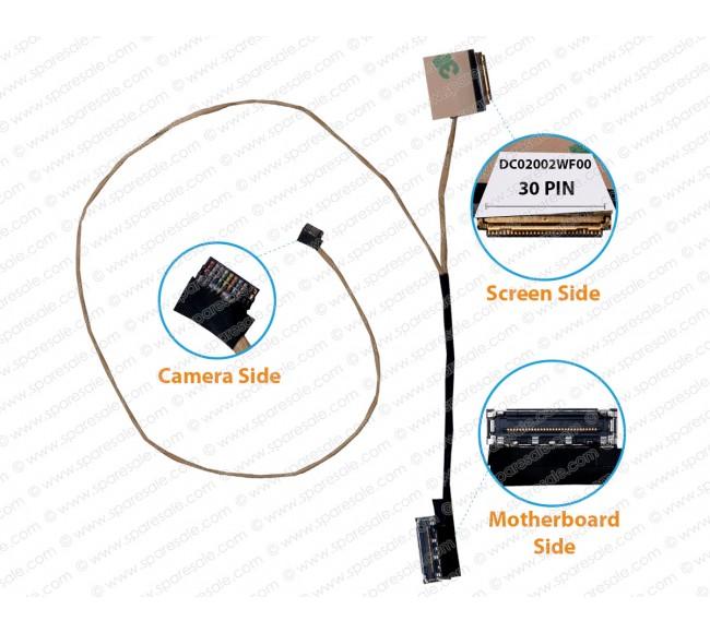 Display Cable For Lenovo V330-14ISK V330K-14IKB DC02002WF00
