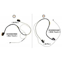 Display Cable For Dell Inspiron 15-5570, 15-5575, 15-3583, 17-3580,15-3593, 15-5570, 15-5575, 15-3584, 15-3585,15-3582, 0DDHWX, DDHWX, P75F, 0T93V4, T93V4