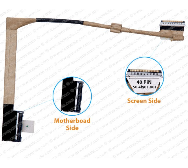 Display Cable For Lenovo ThinkPad T410S T410si Series 45M2948 44C9908 50.4fy01.001