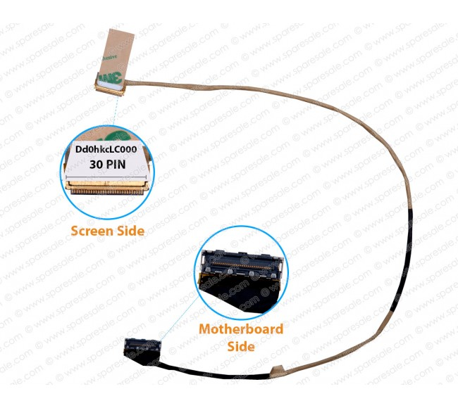 Display Cable For Sony SVF143 SVF143100C SVF143A1YT 143A1QT 30 Pin dd0hkcLC000