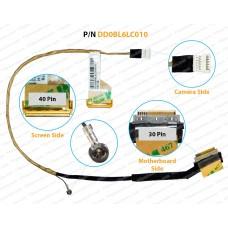 Display Cable For Toshiba Satellite L650, L650D, L655, L655D, DD0BL6LC010, DD0BL6LC030, DD0BL6LC020