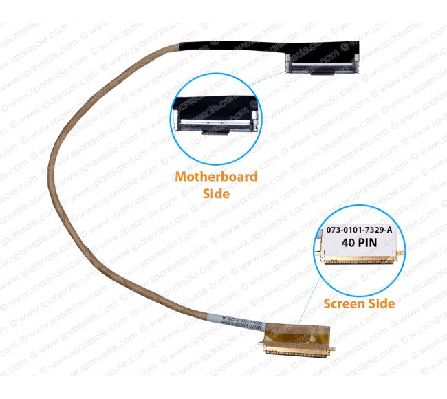 Display Cable For Sony Vaio VPC-CW, VPCCW Series M870 073-0101-7329-A