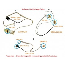 Display Cable For ASUS A45 K45 A85 R400 dc02001g020 14005-00360100 DD0XY1LC010