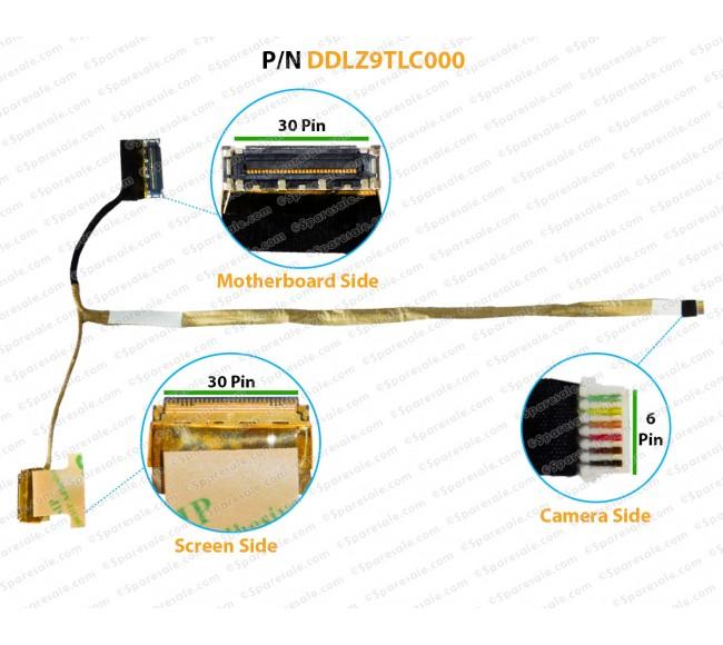 Display Cable For Lenovo IdeaPad U430, U430P, U430T, LZ9, DDLZ9TLC000, DDLZ9TLC010, DD0LZ9TLC030, DDLZ9TLC020, 90203119  TOUCH SCREEN