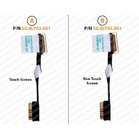 Display Cable For Lenovo ThinkPad X1C, X1 Carbon 2nd & 3rd generation, 00HM151, 00HM152,  50.4LY03.001, 50.4LY05.001
