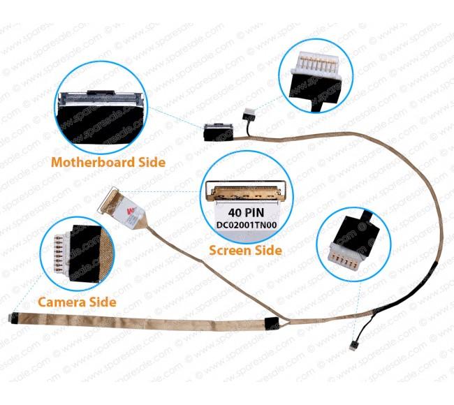 Display Cable For Dell Latitude E6530 QALA0 DC02001TN00 CN-0JM6J2 0JM6J2 JM6J2