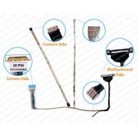 Display Cable For Dell E5510 E6510 Precision M4500 DC02C000H0L A09B08 7F2F7 a09b08