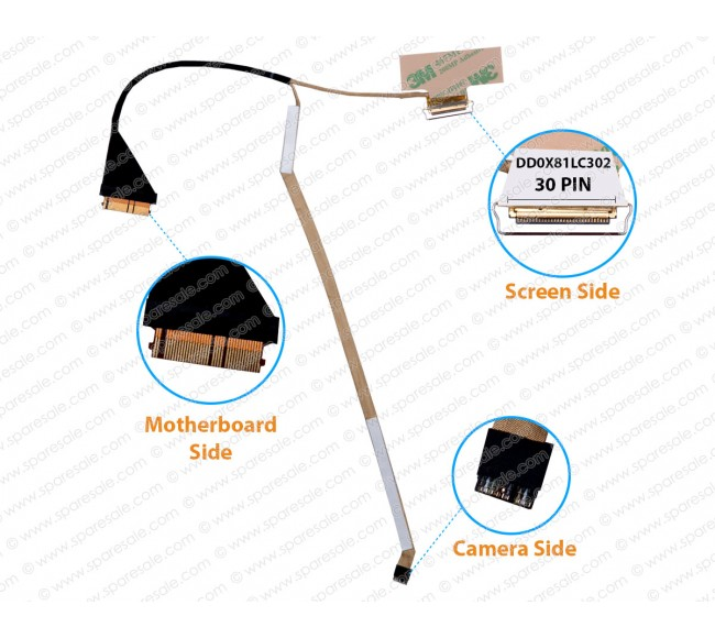 Display Cable For HP Probook 430-G4 DD0X81LC302