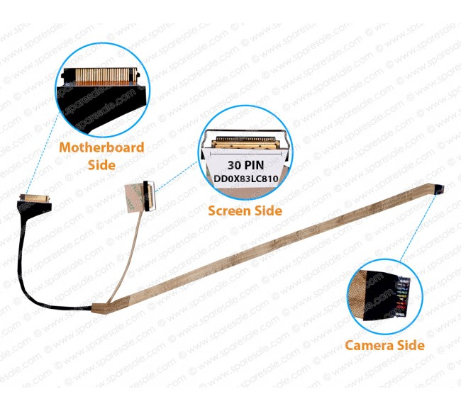 Display Cable For HP ProBook 450-G4 DD0X83LC810