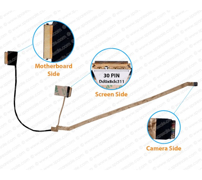 Display Cable For HP 450-G5 451-G5 455-G5 dd0x8clc311