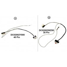 Display Cable For HP 15-BS 15-BW 15T-BR 15Z-BW 250-G6 255-G6 15T-BW DC02002Y000 DC02002WZ00