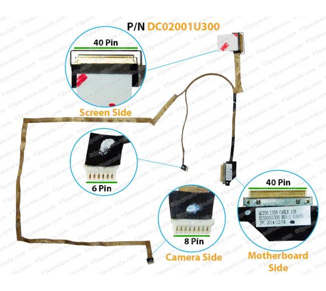 Display Cable For DELL Latitude E6430U DC02001U300 062KRM