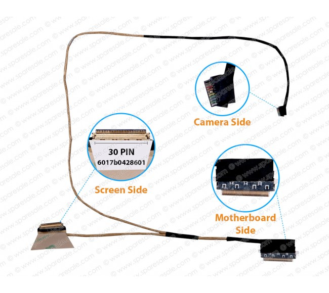 Display Cable For HP EliteBook 840-G1 840 G1 6017b0428601