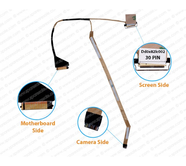 Display Cable For HP ProBook 430-G4 440-G4 450-G4 470-G4 Series dd0x82lc002