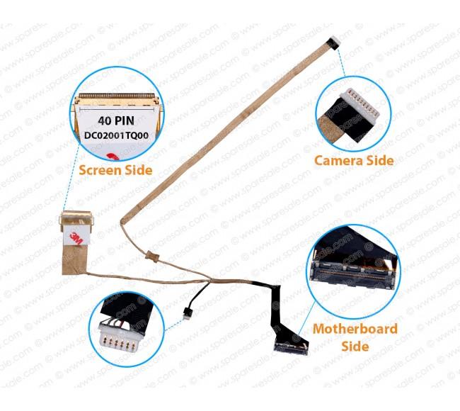 Display Cable For Dell Latitude E6430S QAL71 DC02001TQ00