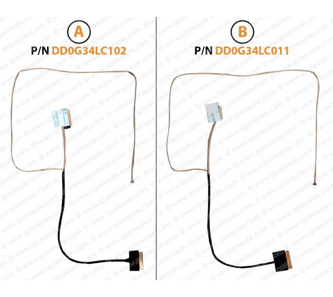 Display Cable For HP Pavilion 15-AU, 15-AU000, 15-AU010, 15-AU023, 15T-AU, 15-AW, 15-AW000