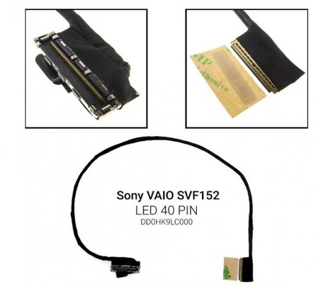 Display Cable For Sony SVF152 Series SVF152C29M SVF152C29L DD0HK9LC000