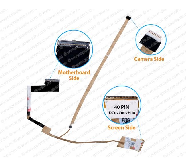 Display Cable For Dell Latitude E5530 QXW10 DC02C002H00 0P2FG7