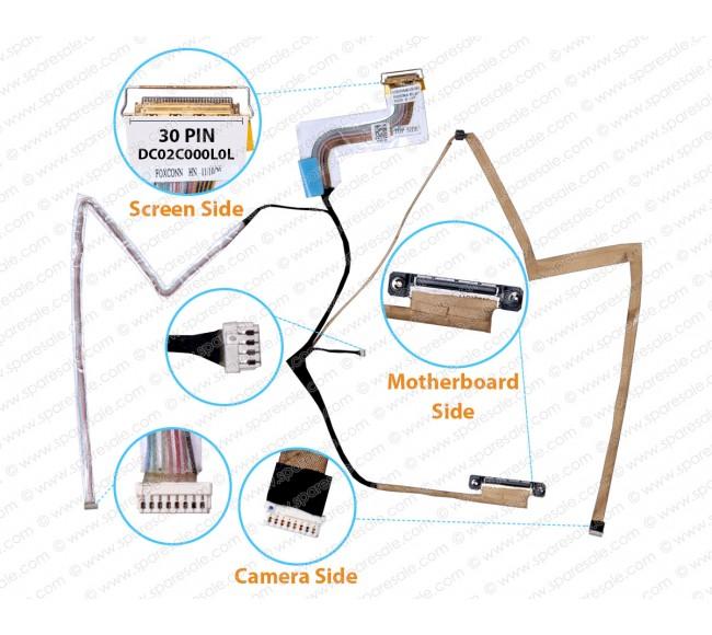 Display Cable For Dell latitude E6410 921VJ DC02C000L0L