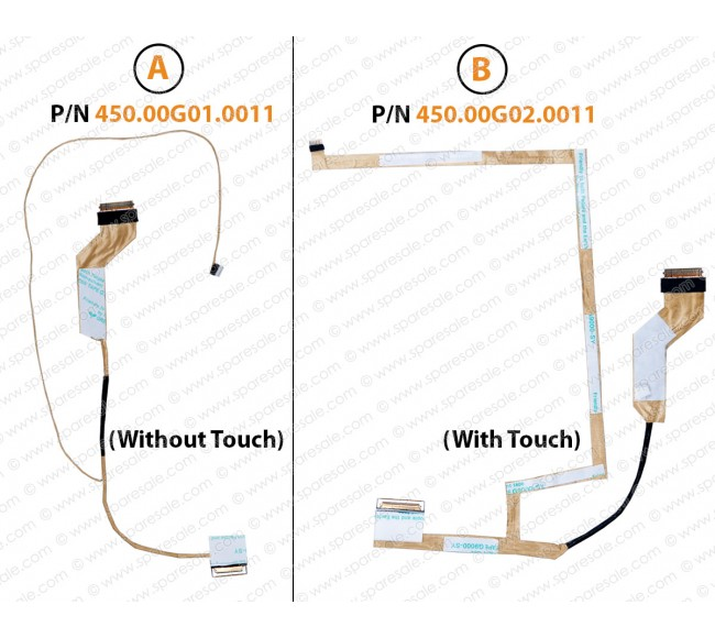 Display Cable For Dell Inspiron 3442 3446 3441 3443 450.00G01.0011 450.00G02.0011