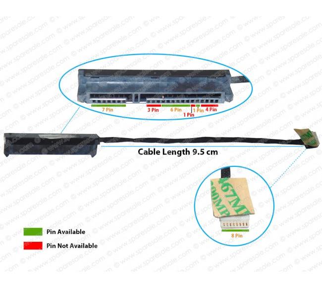 HDD Cable For HP Pavilion TouchSmart 210-G1, 215-G1, 11-E, 11-E015DX, 11-E030SA,  DC02001TD00