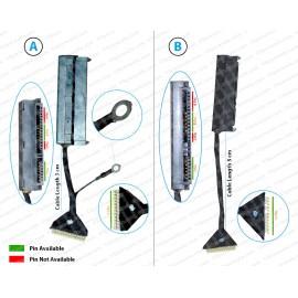 Hdd Cable For SAMSUNG N150, RV511, RV520, RV411, RV420, RV415, NB30, N143, N145, N148,NP300, NP300E5A, NP300E5C, NP300E4X, NP300E4A, NP470R5E, NP510R5E, RC420, RC421, RC520, Q470, Q470C, 500P, RF410, RF510, RF511, RF710, RF712 , RV509, RV515, E3511