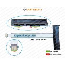 Hdd Cable For Hp Pavilion 14-P, 14-F, 15-P, 15-F, 17-P, 17-F, 15-K, 17-K, DD0Y34HD011, DD0Y34HD021, DD0Y34HD001