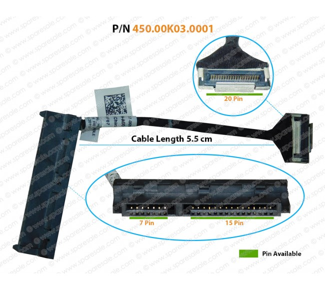 HDD Cable For Dell Inspiron 11-3000, 11-3147, 11-3158, 11-3157, 11-3153