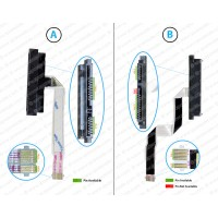 HDD Connector Flex Cable For HP Pavilion X360 11m-ad013dx, 11M-AD, 11-AD, 450.0C304.0001
