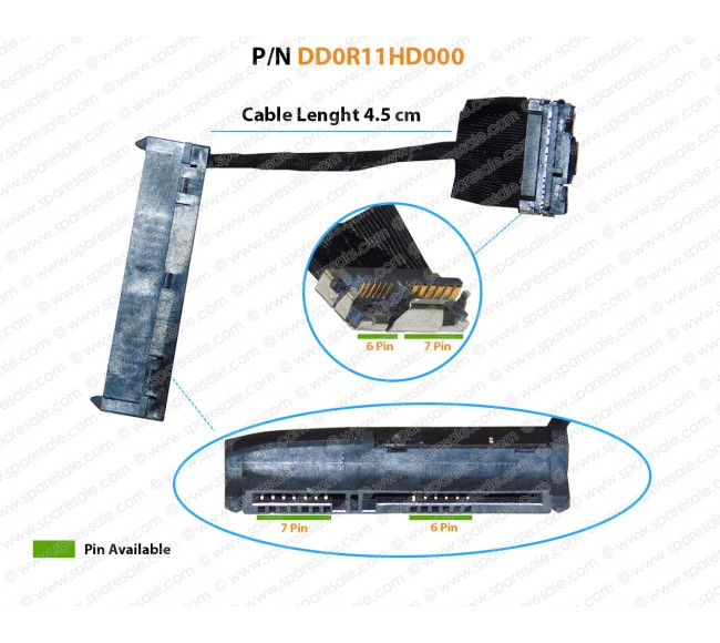 HDD Cable For HP Pavilion G4-1000 G6-1000 G7-1000 DD0R11HD000