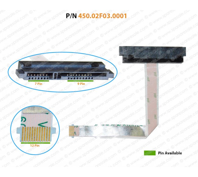HDD Cable For Acer Aspire VN7-571G VN7-591G VN7-791 450.02F03.0001