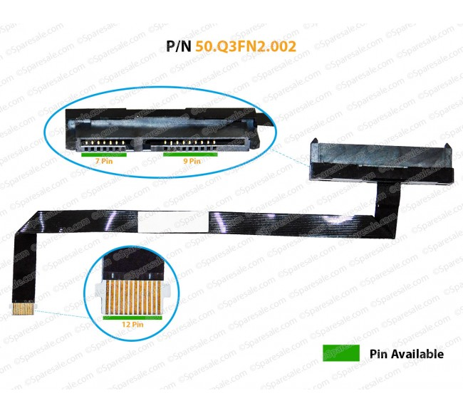 HDD Cable For Acer Predator Helios 300 PH315-51 50.Q3FN2.002, NBX0002BZ00