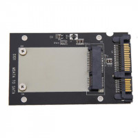 "mSATA SSD to 2.5""SATA Drive Convertor Adapter Card plug"