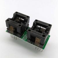 OTS-16-1.27-03 Bios Programmer Adapter SOP8-DIP8 Socket (150mil)