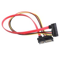 Male to Female SATA Data and Power Extension Cable