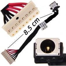 DC Jack for ASUS FX503VD, FX503VM, GL503GE, GL503VD, GL503VM, GL503VMF, DD0BKLAD000