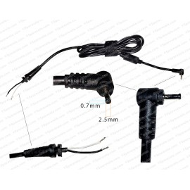 DC Adapter Cable For Asus charger pin (2.5*0.7)