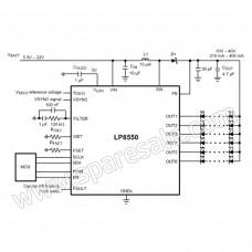 Back Light BGA Driver IC LP8550TLE D68b For MacBook