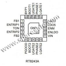 (8A ) RT8243AZQW RT8243A
