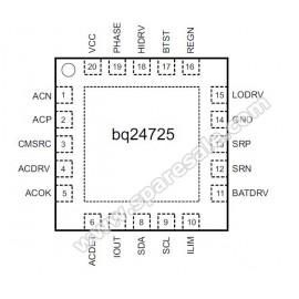 BQ24725A 24725A BQ25A